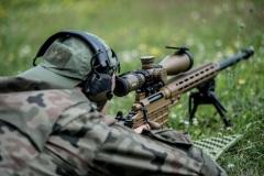 23.06.2020 Poligon Kijewo DWOT Szkolenie strzelców wyborowych. Fot.  DWOT