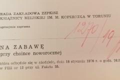 Zaproszenie na zabawę karnawałową, Książnica Miejska w Toruniu.